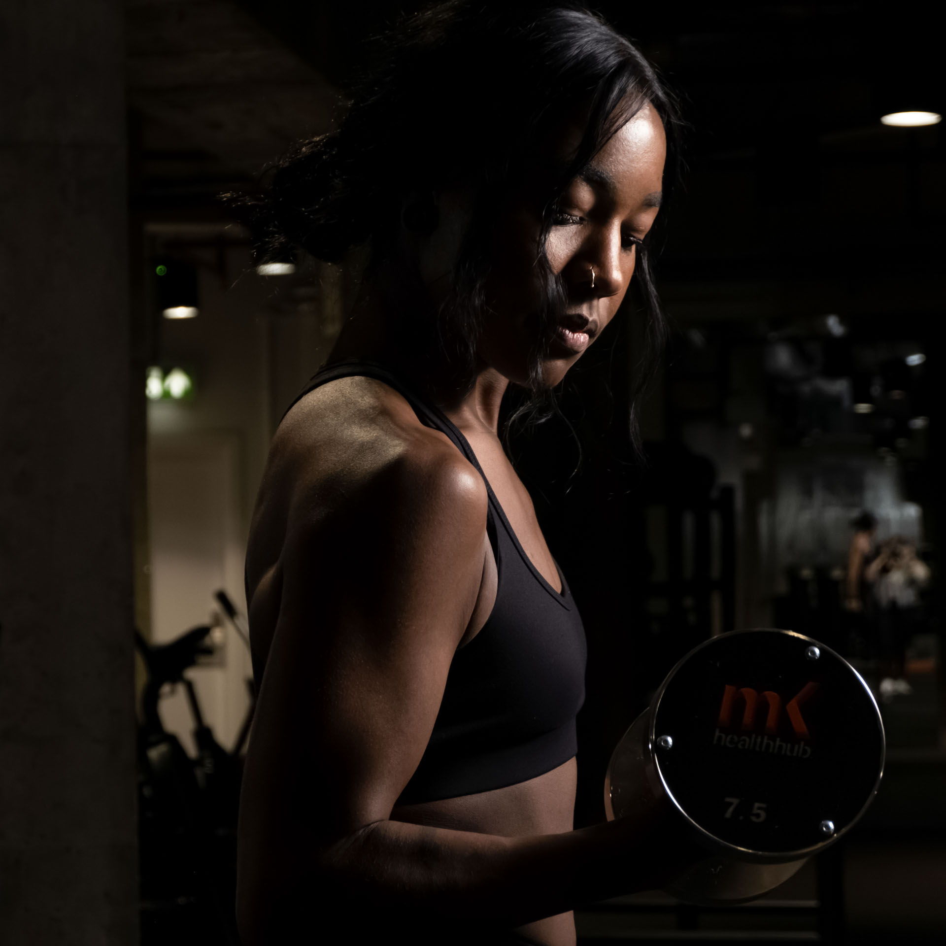 Commercial photography, fitness photography for Birmingham MK Health Hub
