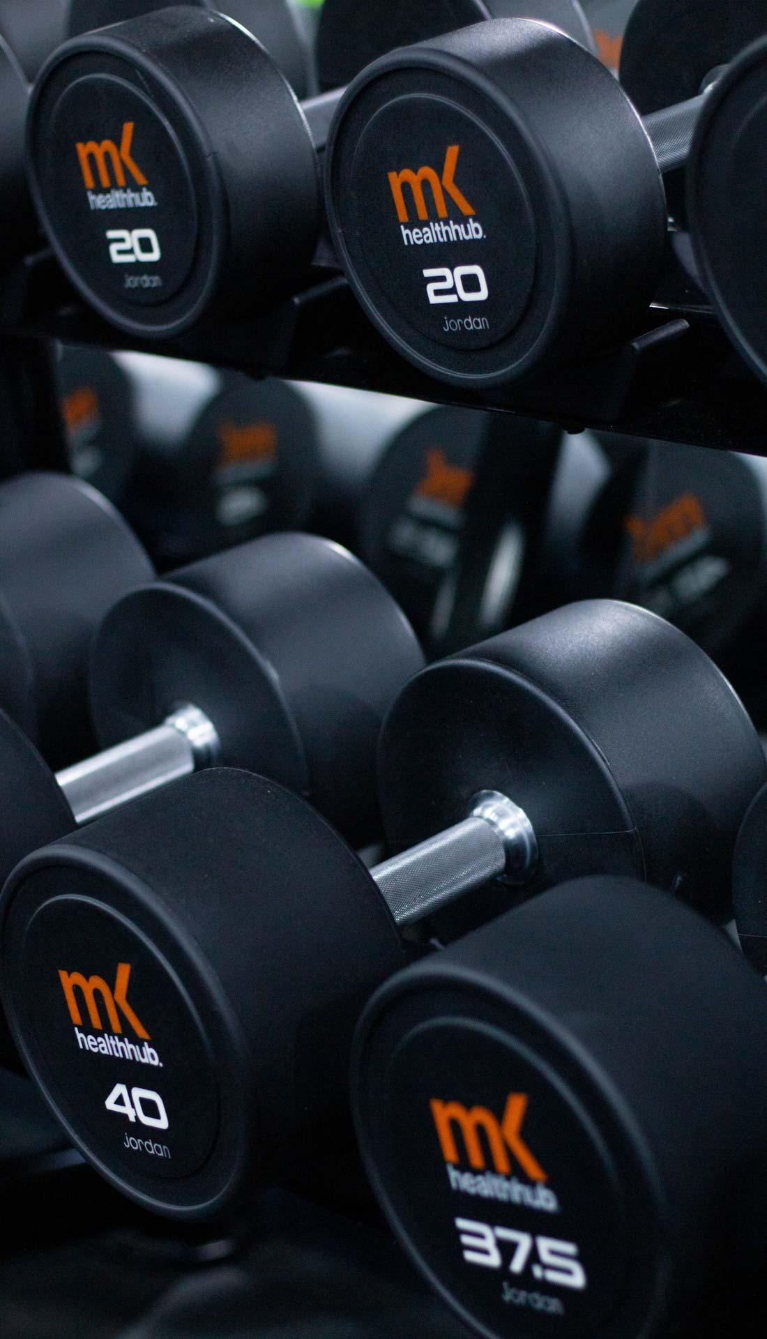 Gym dumbbells, gym weights. Professional gym photography Birmingham UK, fitness photographer uk, gym photoshoot