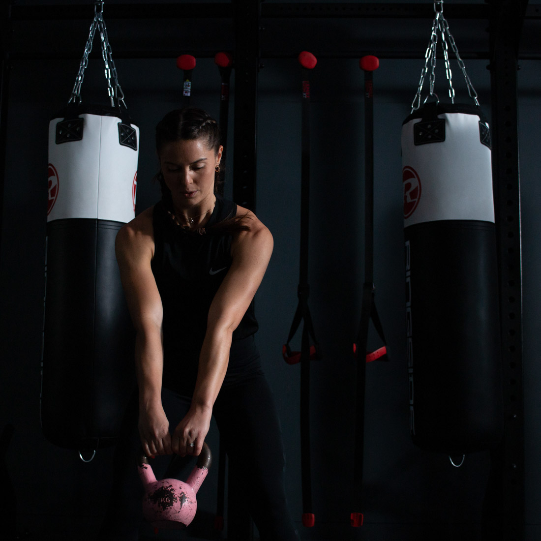 Woman working out with weights, gym workout. Gym photography Birmingham, Fitness photography Birmingham, professional Gym photographer UK