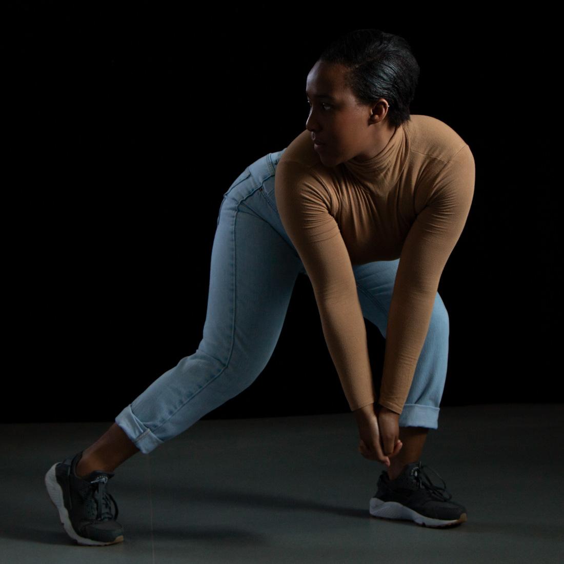 Dance photographer Birmingham, dance photography Birmingham and West Midlands U.K., studio dance photoshoot for a street dancer Gemma. Dance portfolio photoshoot Birmingham