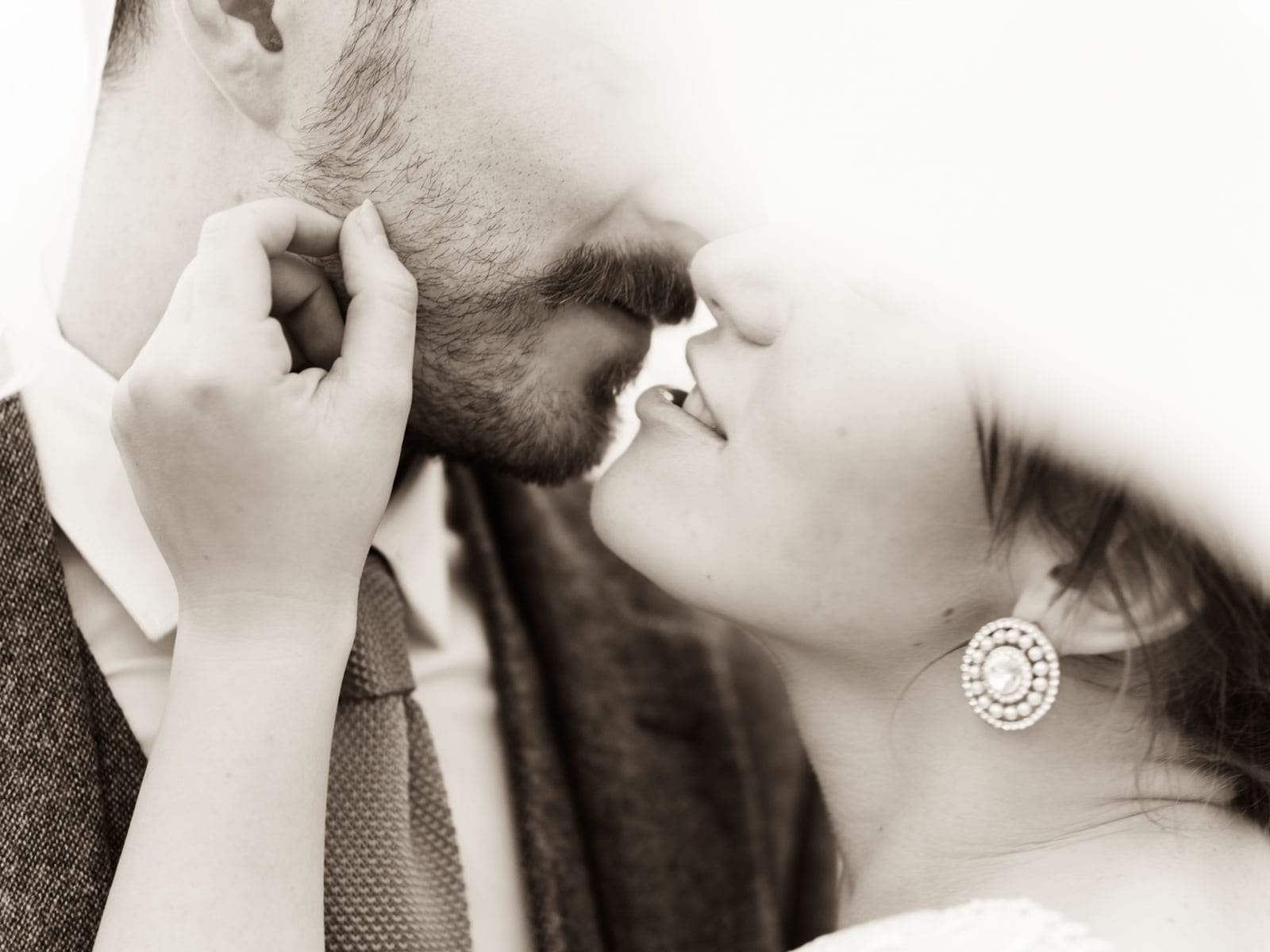 Wedding photoshoot, bride and groom under the bridal veil, wedding photography Staffordshire