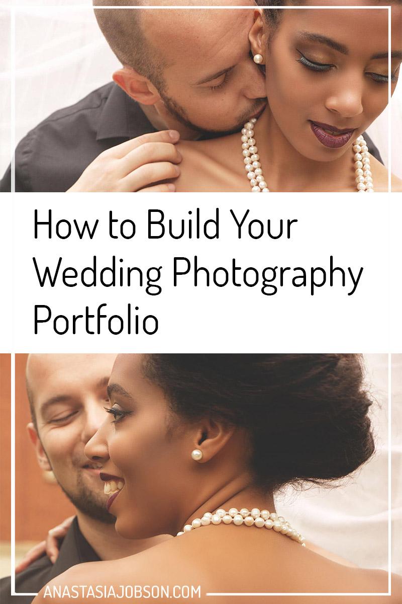 Wedding photography portfolio building, DIY photography portfolio