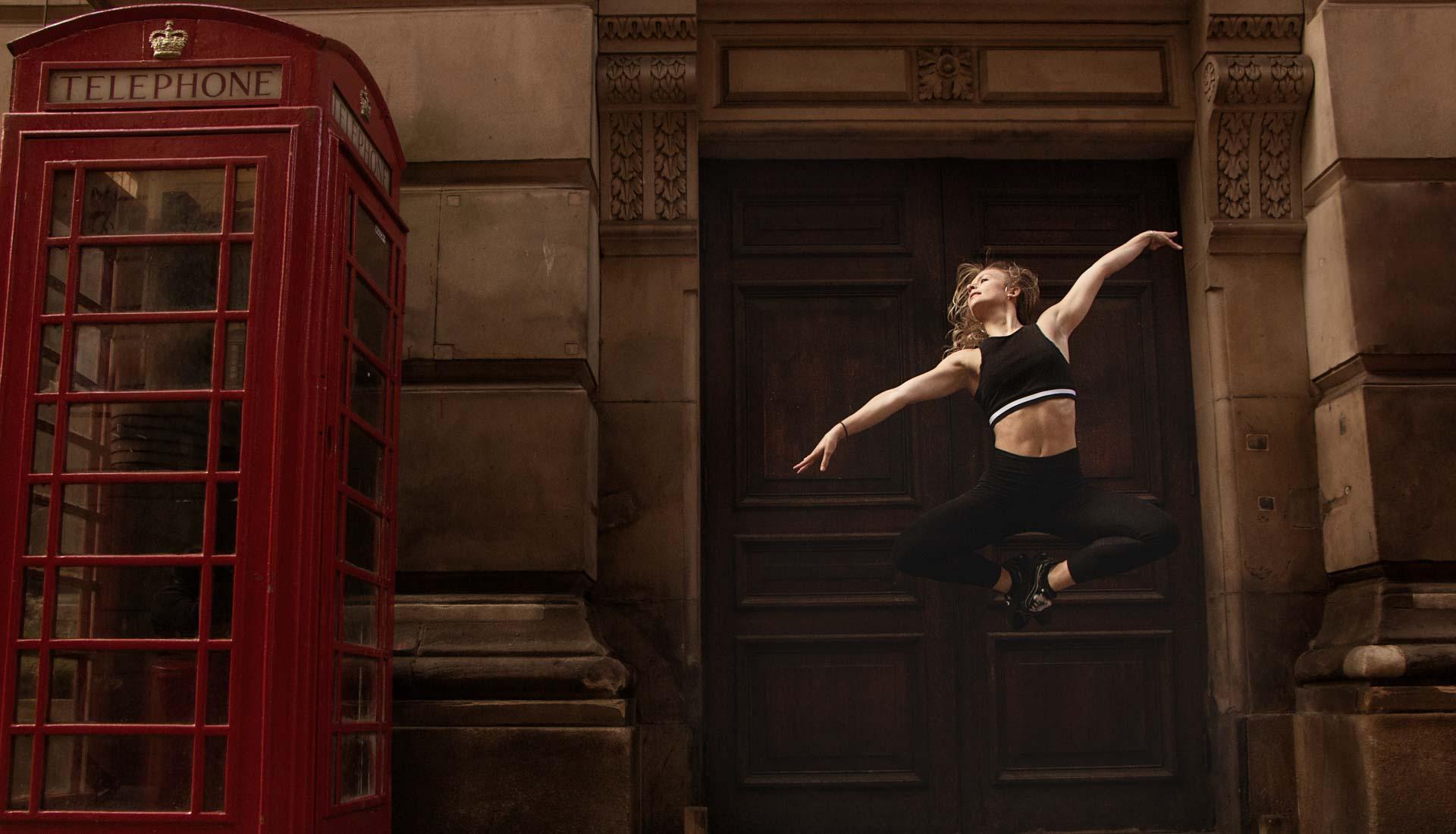 Ballet dance photoshoot in Birmingham city centre, street dance photography, dance photographer uk, dance photography Birmingham