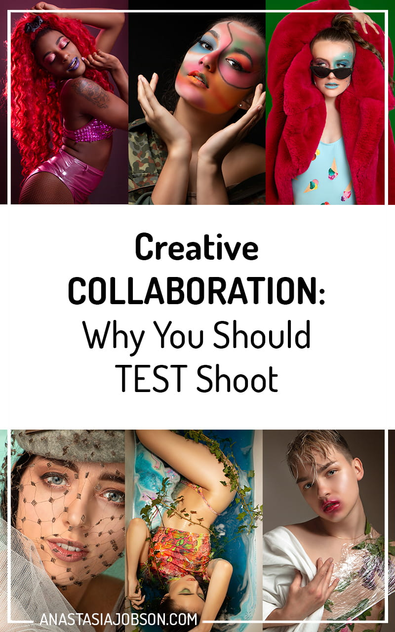 Creative Collaboration: the importance of test shoots and why you should collaborate - Anastasia Jobson Photography blog