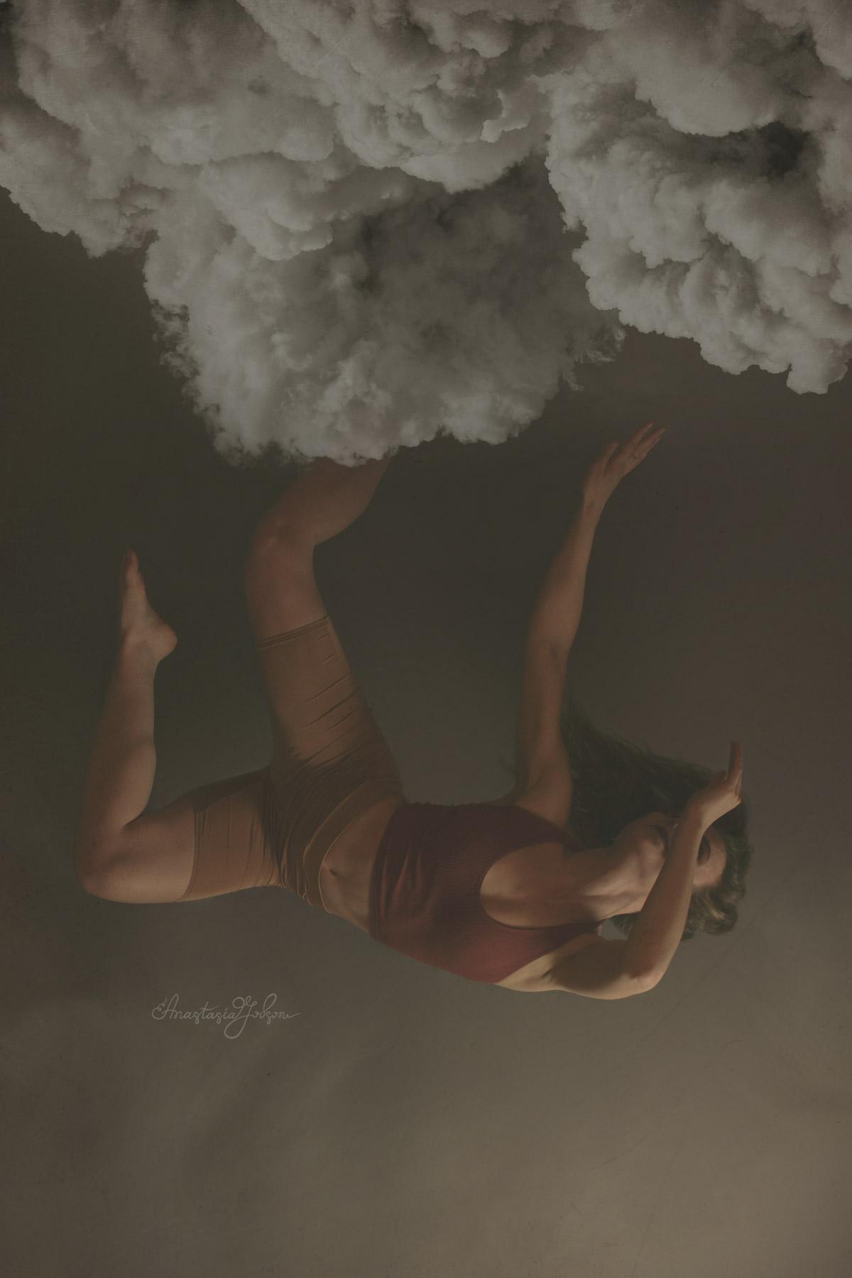 Fine art portrait of a dancer, fine art dance photography, dance photography fine art by Anastasia Jobson