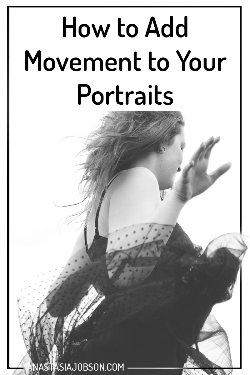 Tips and tricks on how to add movement to your portraits - Photography blog