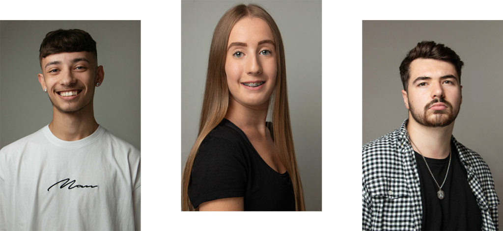 Birmingham dancers' headshots session. Dance portfolios for performers and dance professionals based in Staffordshire, West Midlands and East Midlands