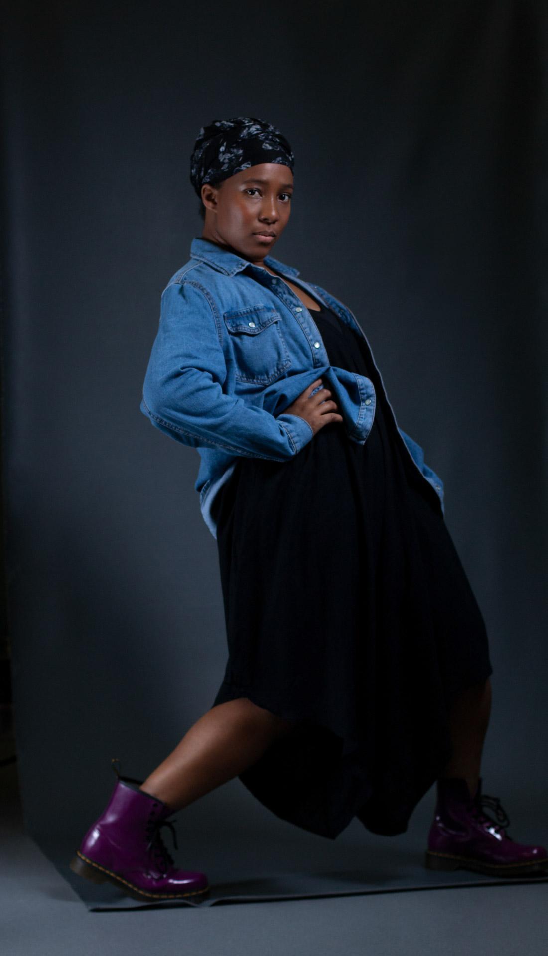 Dancer's portrait, Birmingham dance photographer, Dance portfolio photography Birmingham UK, dance portrait studio photoshoot in Birmingham UK