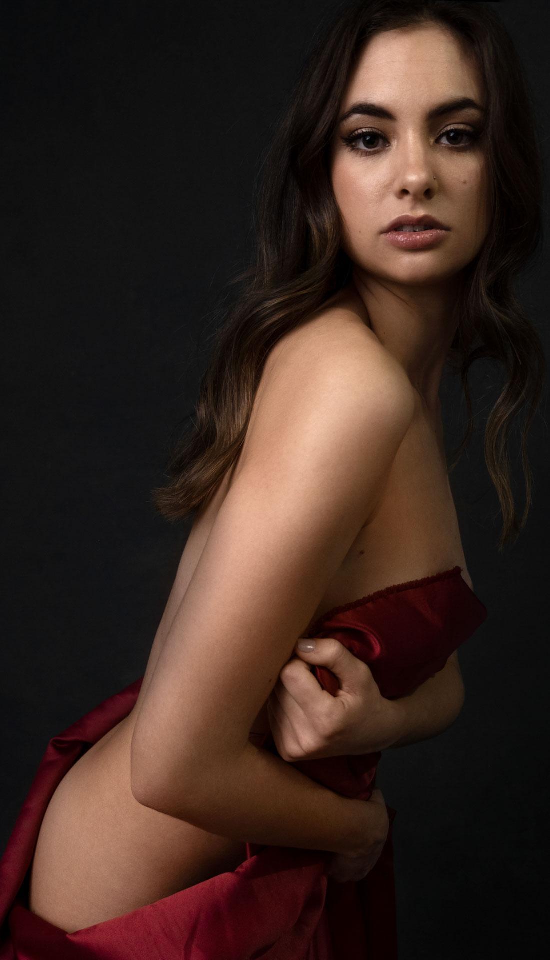 Studio boudoir photoshoot, Birmingham Boudoir photographer