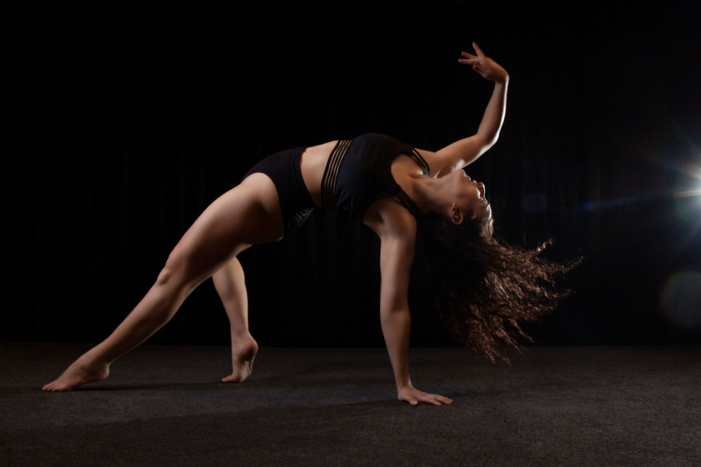 Dance photography by Anastasia Jobson. Contemporary dance Jessica in action