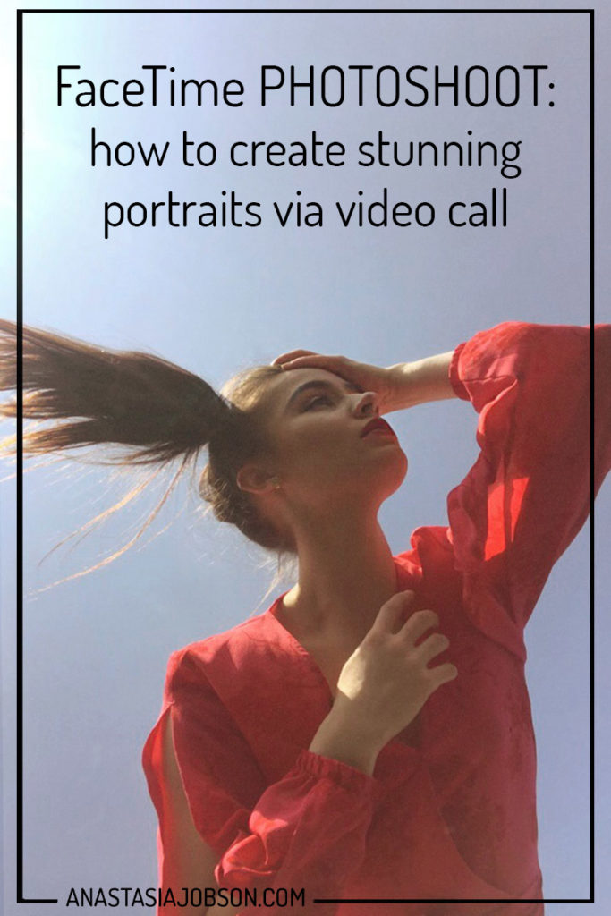 FaceTime photoshoots and how to create stunning portraits via video call