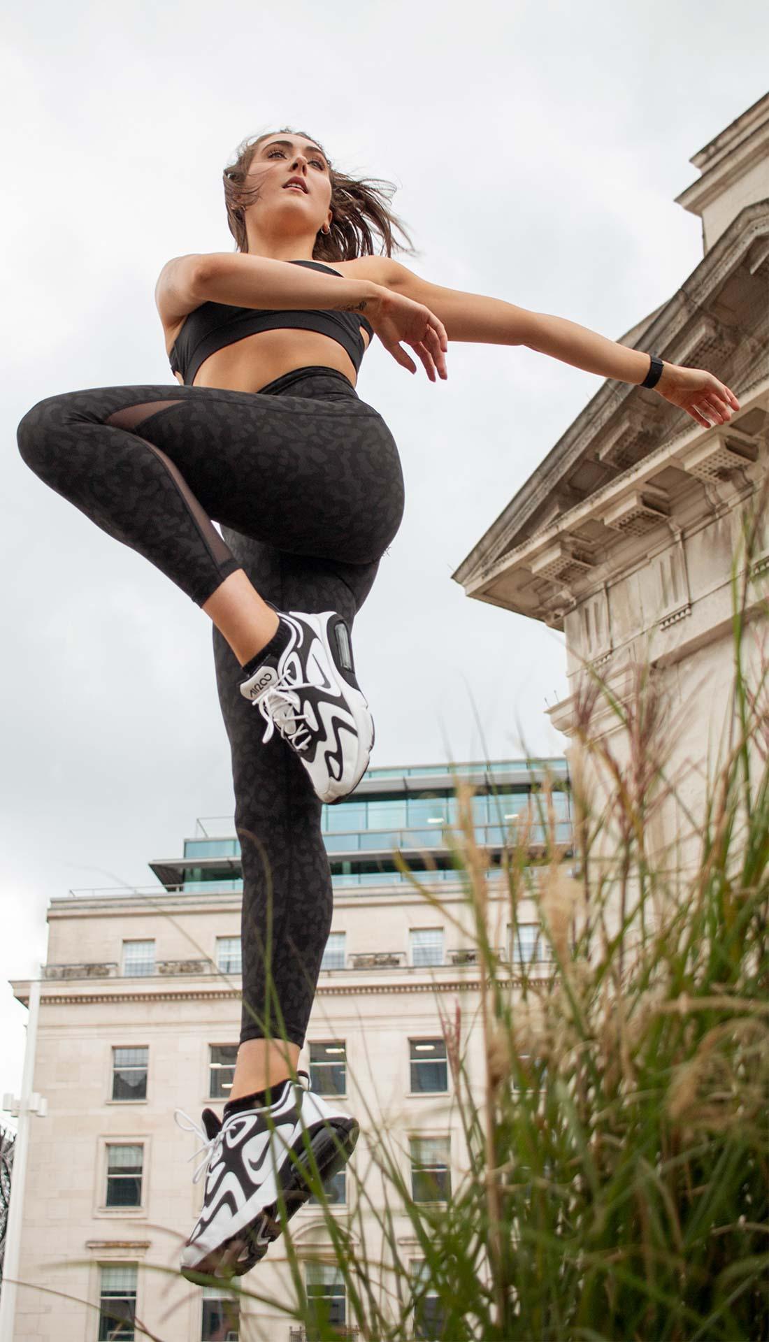 Dance photoshoot in Birmingham U.K. Centenary square