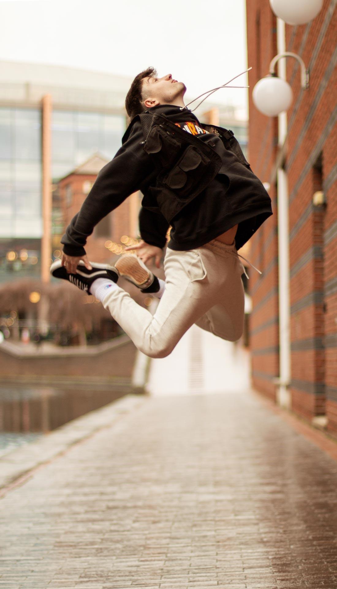 Dance photoshoot in Brindley place, Birmingham U.K.