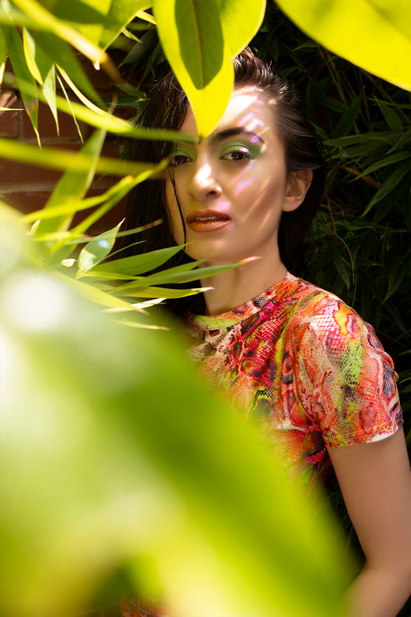 Editorial beauty photoshoot. Make-up tips for a photoshoot from a professional makeup artist