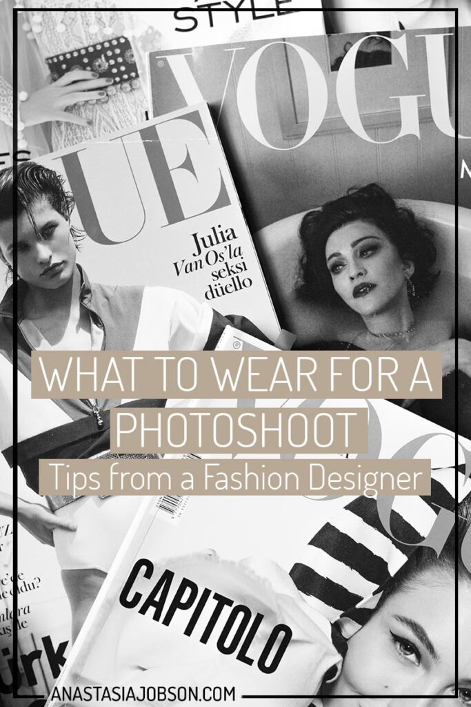 Photoshoot prep: What to wear for a photoshoot, tips from a fashion designer