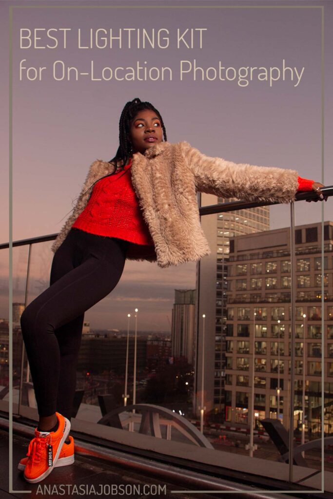 Lighting for on-location photography. Birmingham portrait and dance photographer UK
