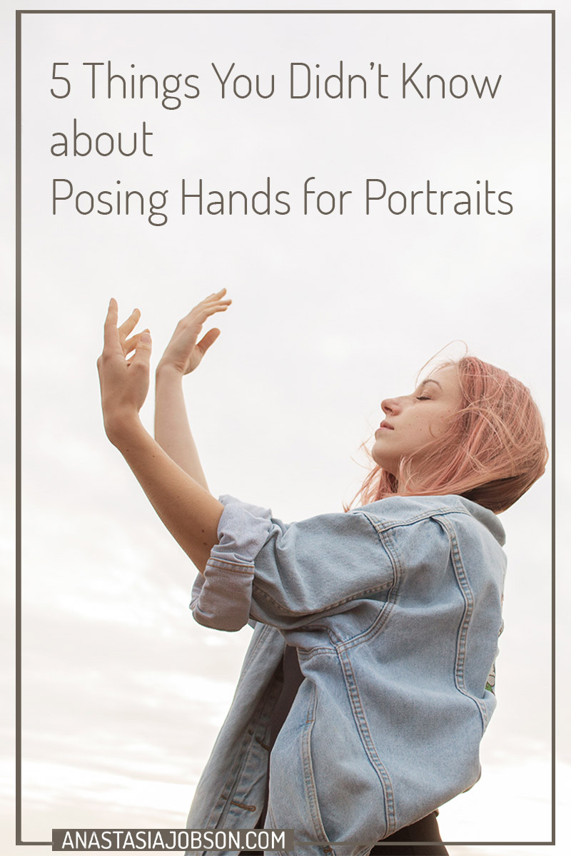 5 things you didn't know about posing hands for portraits. An image of a ballerina dancing
