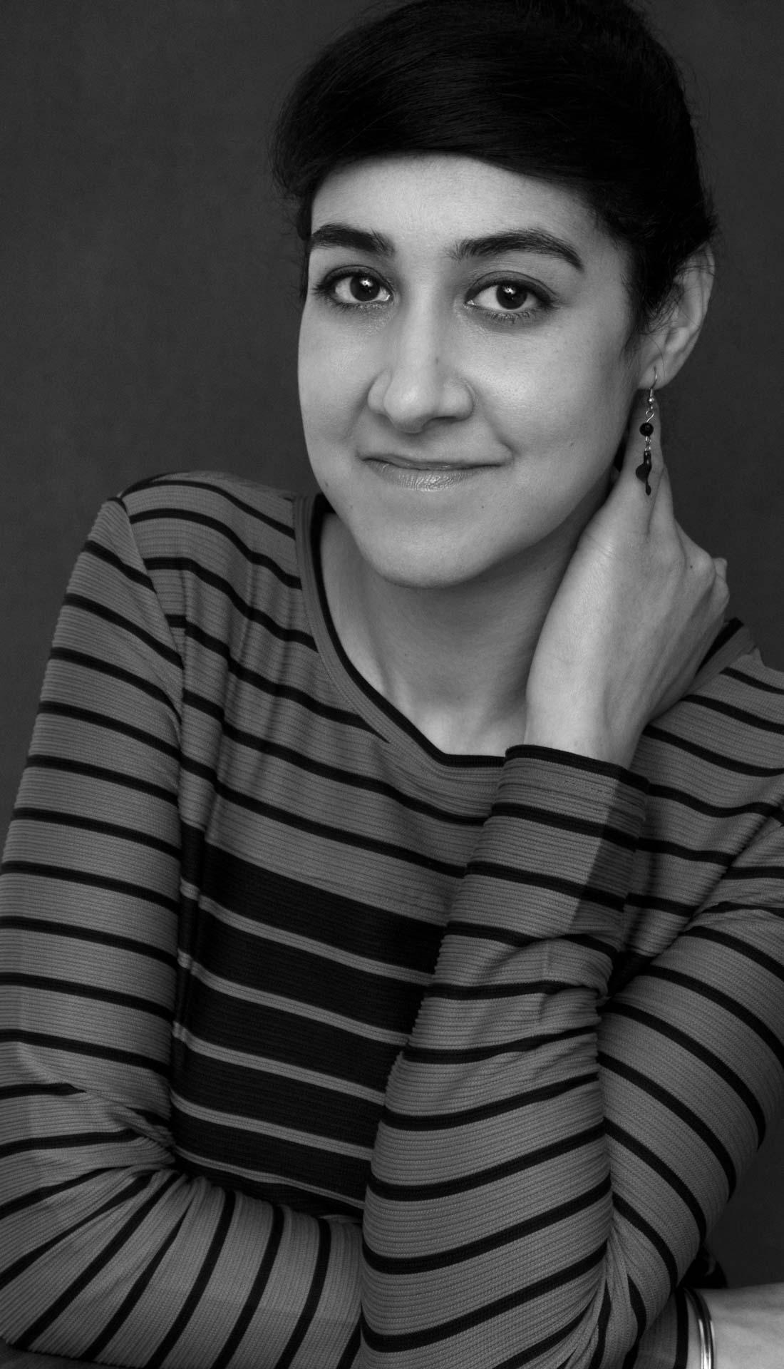 Personal Branding photography, studio headshot of a female legal executive