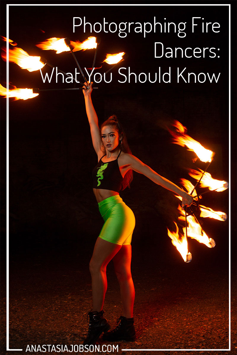 How to photograph fire dancers and performers, dance photography with fire