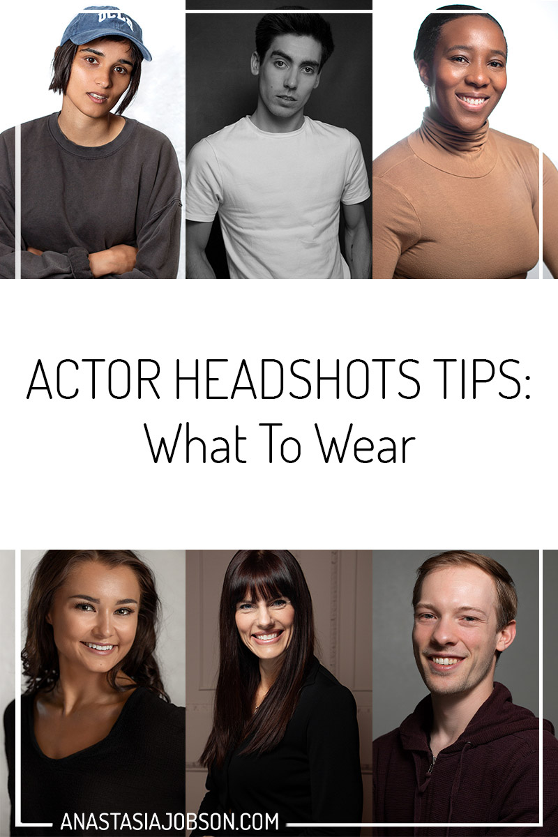 What to wear for actor headshots, actor headshots tips, Birmingham headshot photographer