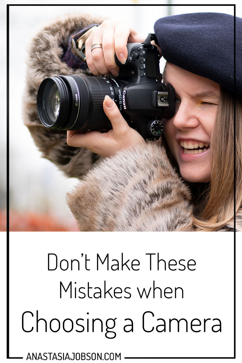 mistakes when choosing a camera to buy, photography blog, business of photography, photography gear