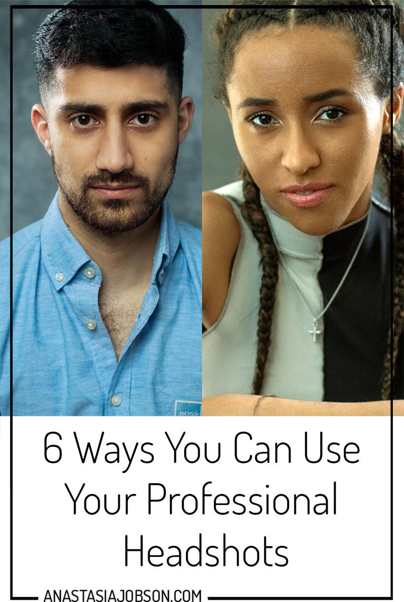 photography blog by Anastasia Jobson. Professional headshots FAQ, how to use professional headshots