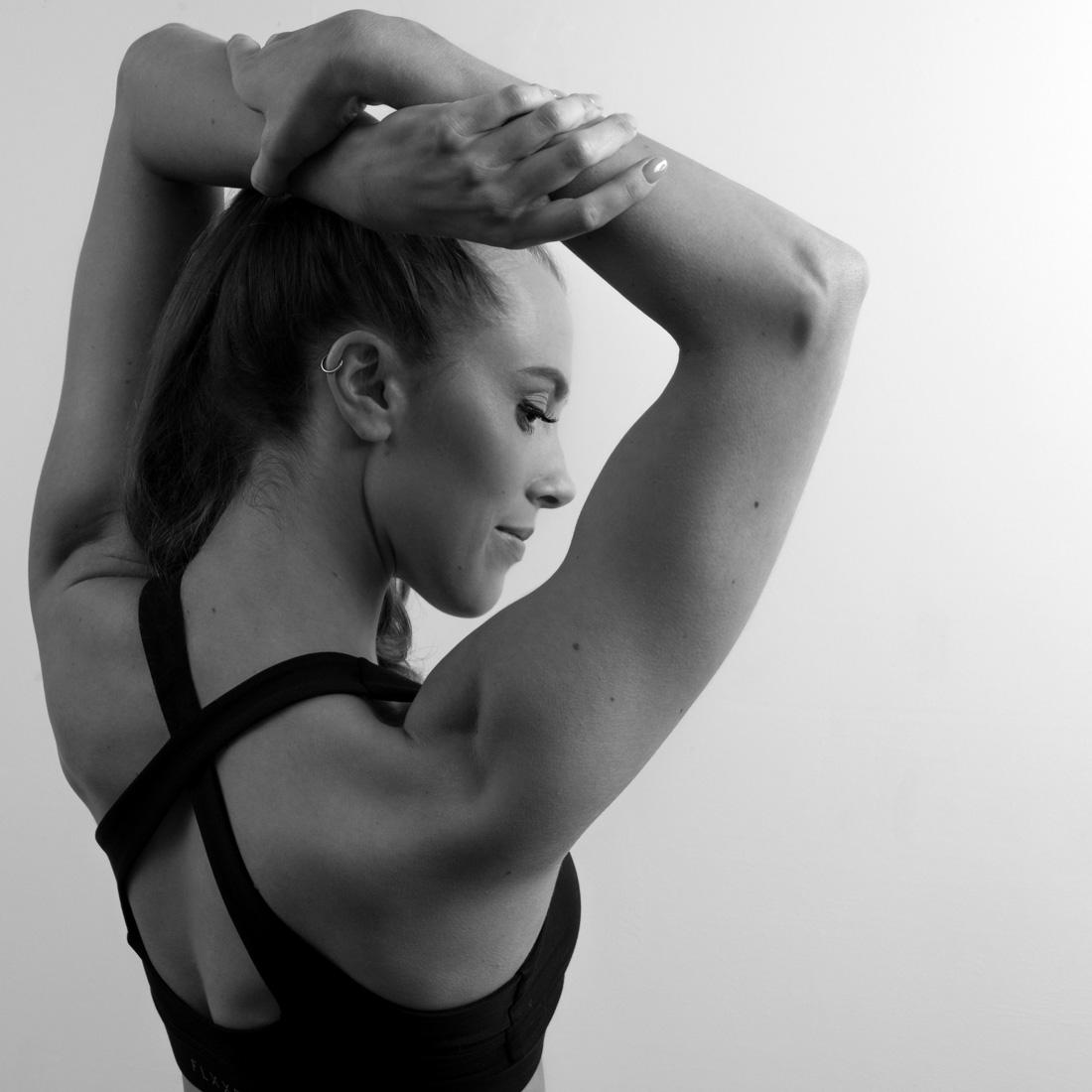 fitness portfolio photoshoot for a Birmingham personal trainer
