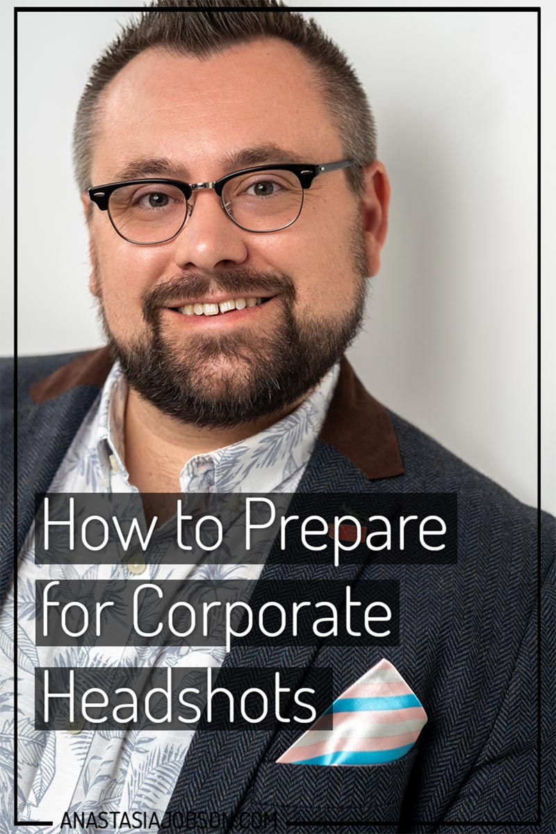 How to Prepare for Corporate Headshots photography blog