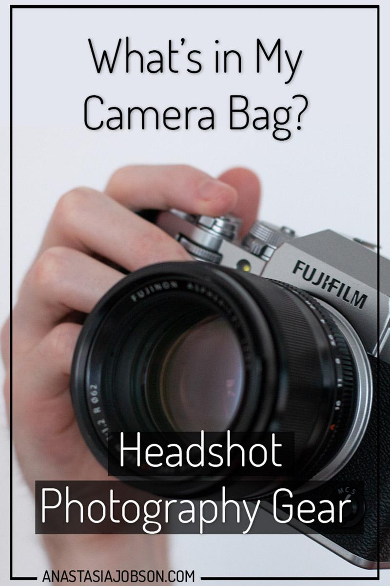 Headshot Photography Gear